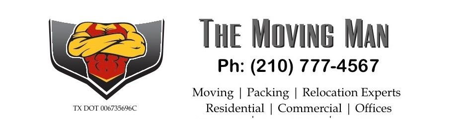 The Moving Man | San Antonio Movers
